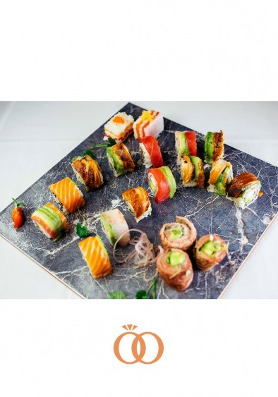 Roll Platter With Beef Roll
